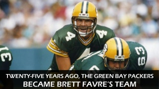 25 years later: Brett Favre's dramatic debut at Lambeau Field