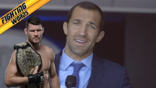 Luke Rockhold doesn't think Michael Bisping is the real UFC middleweight champ