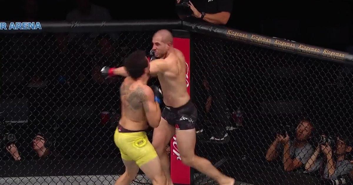 Gökhan Saki KOs Henrique da Silva   HIGHLIGHTS   UFC FIGHT NIGHT (VIDEO)   FOX Sports