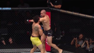 Gökhan Saki KOs Henrique da Silva | HIGHLIGHTS | UFC FIGHT NIGHT