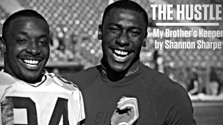 Shannon Sharpe's heartfelt reflection on the bond he has with his brother, Sterling