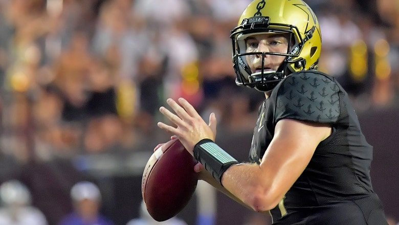 Kyle Shurmur and the Vanderbilt Commodores trump the No. 18  Kansas State Wildcats 14-7