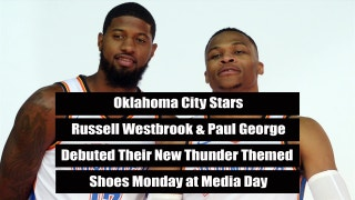 Westbrook, George Show Off New Kicks | The Scoop