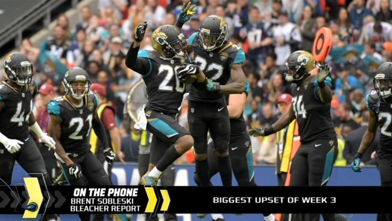 Was the Jags' rout of Ravens the biggest upset of Week 3?