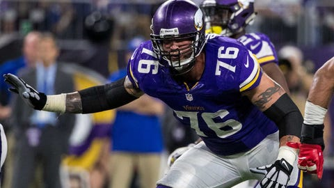 Minnesota Vikings release offensive lineman Alex Boone
