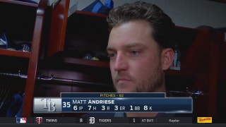 Matt Andriese on loss: 'I'll just build off this one and go from here'