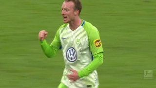Max Arnold pulls one back for Wolfsburg | 2017-18 Bundesliga Highlights
