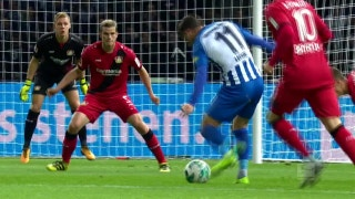 Hertha Berlin vs. Bayer Leverkusen | 2017-18 Bundesliga Highlights