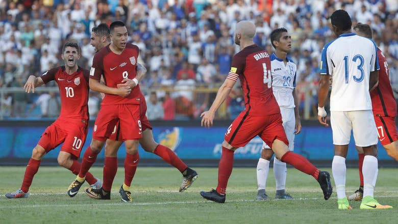 USMNT eke out a draw in Honduras thanks to Bobby Wood's late strike