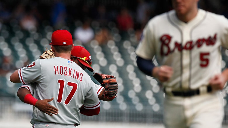 Braves LIVE To Go: Atlanta's final home game of 2017 ends in 2-0 loss to Phils