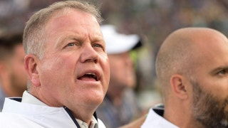 "Brian Kelly fighting for his job against Michigan State? Colin explains why it's a ""phone-call game"""