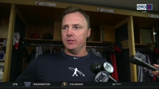 Jay Bruce forecasts his availability for next game after early exit