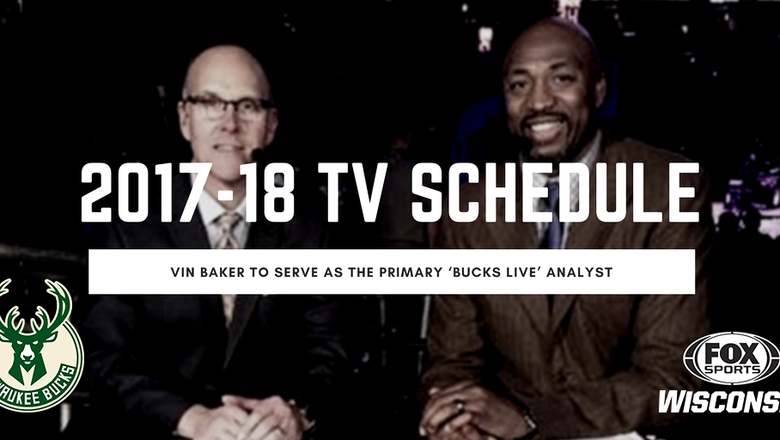 FOX Sports Wisconsin, Bucks announce 2017-18 broadcast schedule