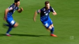 Dennis Geiger capitalizes for Hoffenheim | 2017-18 Bundesliga Highlights