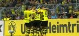 Maximilian Philipp finishes volley for Dortmund lead   2017-18 Bundesliga Highlights