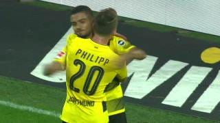 Maximilian Philipp nets brace for Dortmund | 2017-18 Bundesliga Highlights