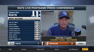 Kevin Cash: 'We gotta be able to come back and get some runs'