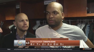 Odrisamer Despaigne: 'There was a lot of motivating factors that went into today'