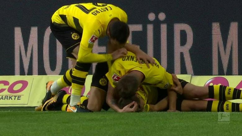Philipp gives Dortmund the lead vs. Koln just two minutes in | 2017-18 Bundesliga Highlights