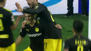 Pulisic helps power Dortmund to convincing win against Hamburg