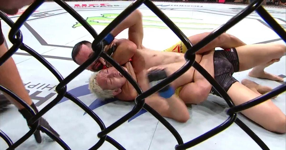 Jussier Formiga submits Ulka Sasaki   HIGHLIGHTS   UFC FIGHT NIGHT (VIDEO)   FOX Sports