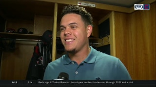 Gio Urshela is still thinking about his web gems from previous game