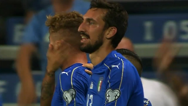 Italy hang on for one-goal victory against Israel | World Cup Qualifying Highlights