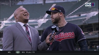 Jason Kipnis loved hearing 'Let's Go Tribe' chants on West Coast