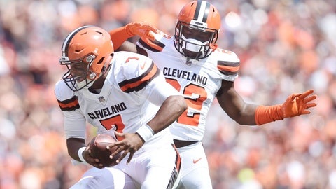 Kizer on his performance in his NFL debut