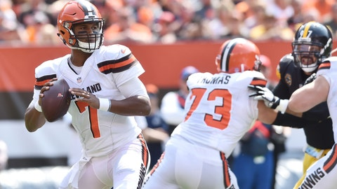Kizer on speaking to Roethlisberger after the game