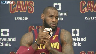 LeBron discusses Sunday's actions around NFL, unifying power of sports