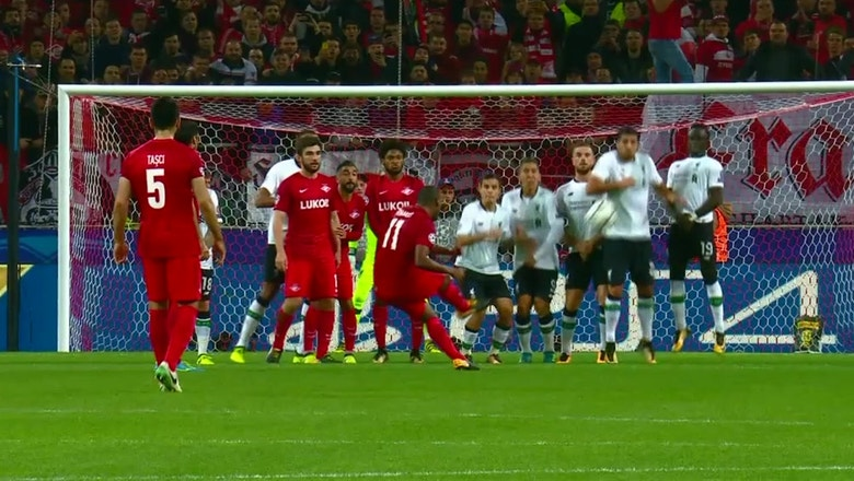 Spartak Moscow vs. Liverpool | 2017-18 UEFA Champions League Highlights
