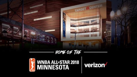 WNBA All-Star Game to be held at refurbished Target Center in 2018