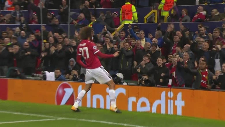 Man United make easy work of Basel | Champions League Highlights