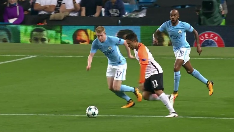 Manchester City fend off Shakhtar to keep rolling in Europe | Champions League Highlights