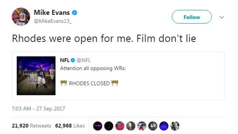 Mike Evans, Buccaneers receiver