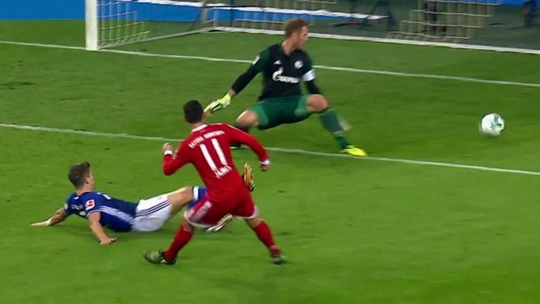 James Rodriguez leads Bayern to victory against Schalke in first Bundesliga start