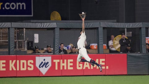 Good luck scoring on Byron Buxton and the Twins' defense