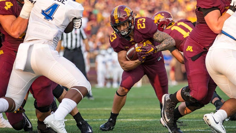 Gophers RB Brooks to miss 2018 season with lower-body injury