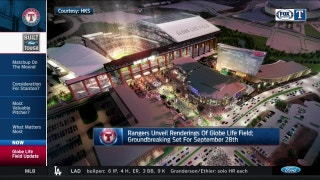 New Details on the Rangers New Ballpark | Rangers Live