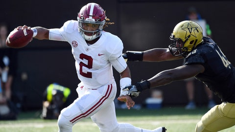 ON THE RISE: Jalen Hurts, QB Alabama
