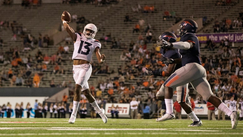 Dawkins' 6 TDs lead Wildcats' rout of UTEP