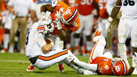 Auburn Tigers at Clemson Tigers Start Time, Betting Odds