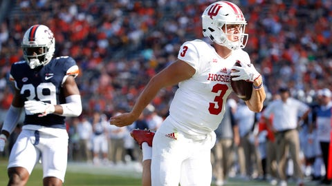 Ramsey leads Indiana to 34-17 win at Virginia