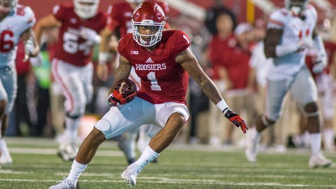 Indiana WR Nick Westbrook out for season with torn ACL
