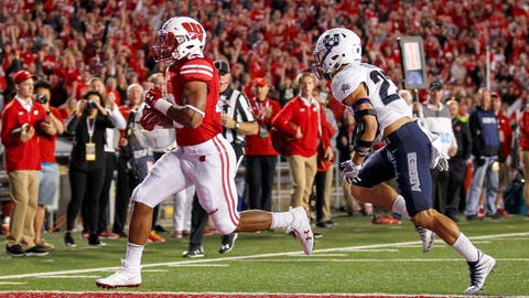 Jonathan Taylor, Badgers running back (↑ UP)