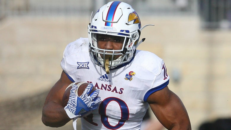 Jayhawks' road woes continue with 42-30 loss to Ohio