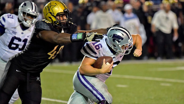 Kansas State suffers 14-7 upset loss to Vanderbilt