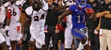 Jayhawks start off on right foot with 38-16 win over Southeast Missouri State