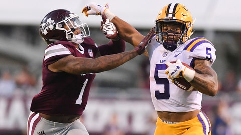 FALL GUYS: Derrius Guice RB LSU